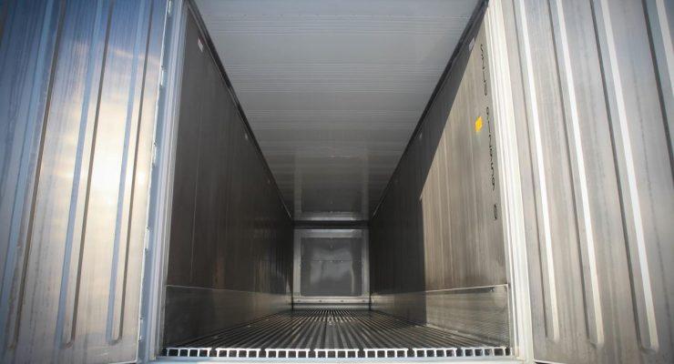 Intérieur conteneur frigorifique Isotherme 40 pieds IceCubner