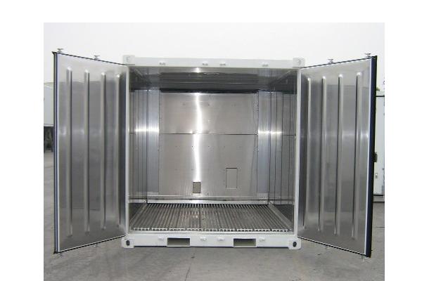 Conteneur frigorifique IceCubner 10 pieds - Ice10 Ouvert